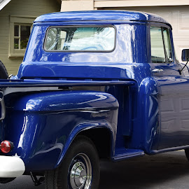 Chevy truck by Steve Hayes - Novices Only Objects & Still Life ( car, chevrolet, blue, truck, automobile, chevy )
