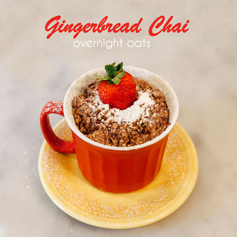 Gingerbread Chai Overnight Oats