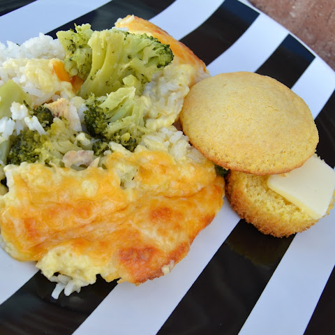 Yummy Cheesy Broccoli Chicken Casserole