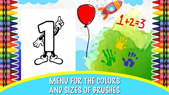 Coloring Pages Paint for Kids - screenshot
