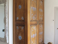 Bespoke Armoire Traditional Raised Panel External with a Modern Interior