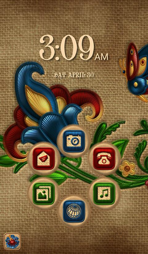NEXT FLOWERS EMBROIDERY THEME Screenshot 5