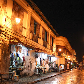 old spaniards houses vigan by Diofel Dagandan - Buildings & Architecture Architectural Detail