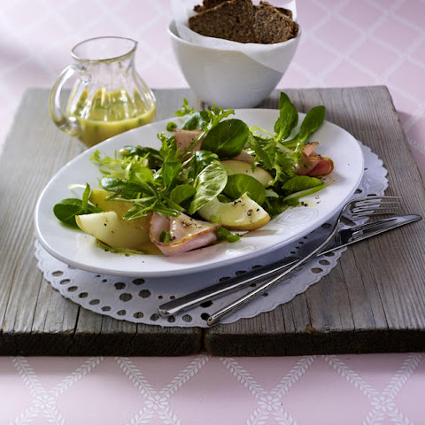 Smoked Ham and Pear Salad