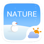 Nature GO Weather Widget Theme