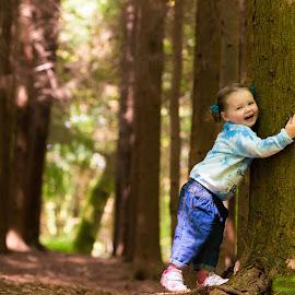 Sleepy Hollow by Jenny Trigg - Babies & Children Children Candids ( child, children, woodland, toddler, photography )