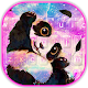 Galaxy Cute Panda Keyboard Theme APK