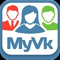 APK App MyVk Гости и Друзья Вконтакте for iOS
