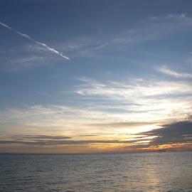 Sunset by Fakhruddin Fazil - Landscapes Beaches ( sky, malacca, sunset, beauty, ocean view )