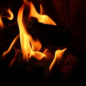 fire by Doug Maertz - Abstract Fire & Fireworks