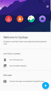 Cyclope - Icon pack- screenshot thumbnail