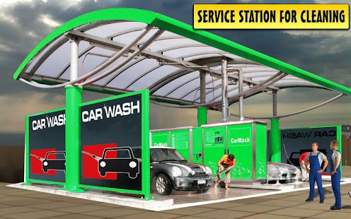 Car Driving, Serves, Tuning and Wash Simulator
