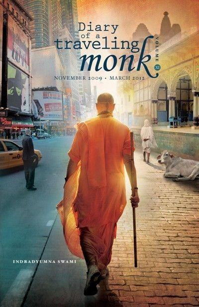 Diary of a Traveling Monk, Vol. 11 (November 2009 – March 2012)  Indradyumna Swami brings us to Australia where he attends the Parliament of World Religions, and tours with 47 festivals that manifest in three short months. In Africa he joins Food for Life devotees to distribute prasadam and the Holy Names of Lord Krishna to the Zulu people outside of Durban.  Relish the amazing stories of numerous people whose lives have been miraculously changed by Maharaja's yearly Polish Festival Tour. Maharaja returns to Brazil, where he once boldly sailed up the Amazon River to remote villages.