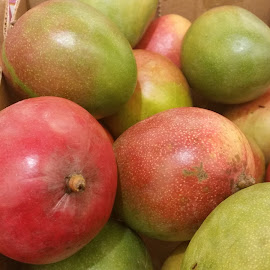 Mangoes by Maricor Bayotas-Brizzi - Food & Drink Fruits & Vegetables