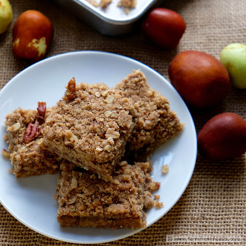 Jujube Butter Oatmeal Bars