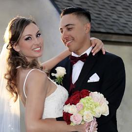 by Ryk Novaux - Wedding Bride & Groom