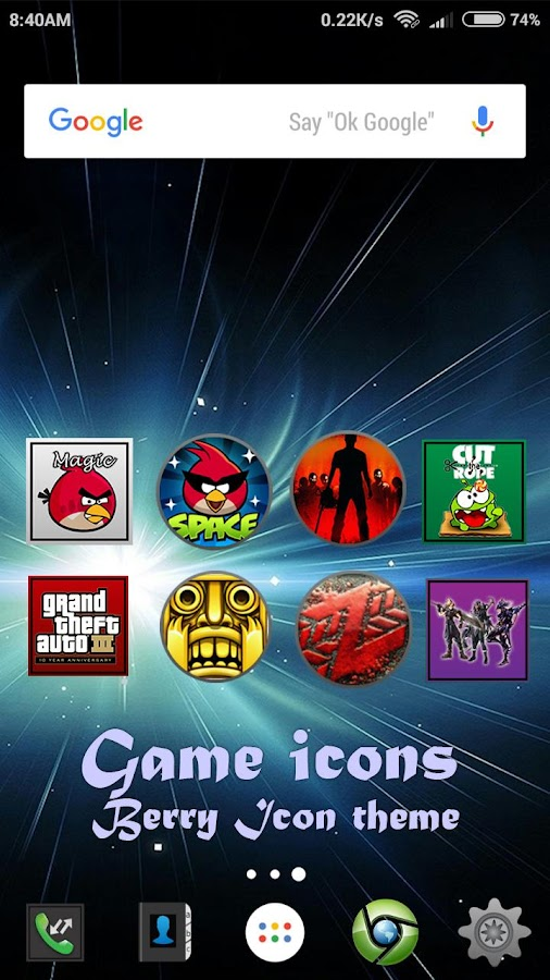 Berry icon theme Screenshot 4