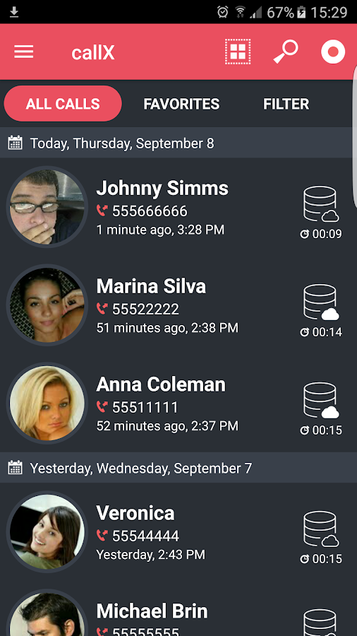 Automatic Call Recorder Screenshot 0