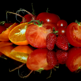 vegetables with fruits by LADOCKi Elvira - Food & Drink Fruits & Vegetables ( fruits )