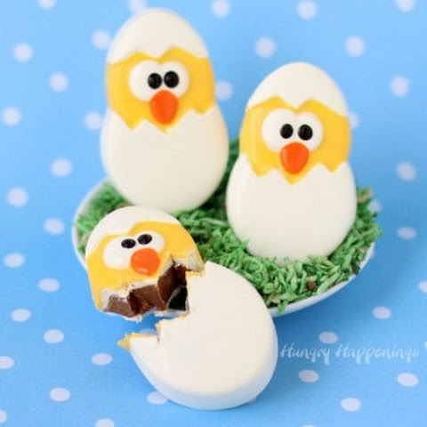 Chocolate Caramel Fudge filled Hatching Chicks for Easter