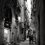 Smoking Timee by Joan Vega - City,  Street & Park  Street Scenes ( smoking, street, outdoor, candid, night, barcelona )