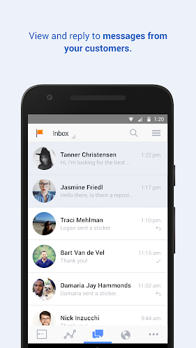 Facebook Pages Manager Android App Screenshot
