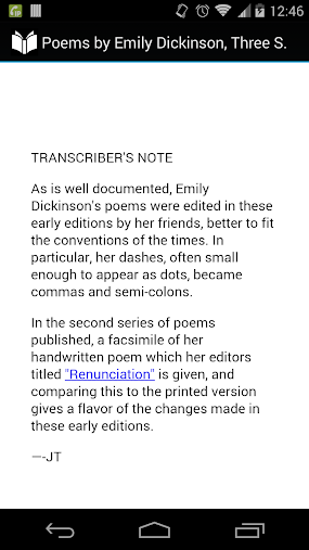 Poems by Emily Dickinson APK