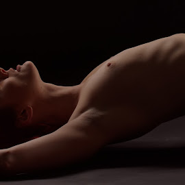 contours by Michaela Firešová - Nudes & Boudoir Artistic Nude ( contour, nude )