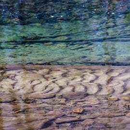 Clear Water by Kevin Frick - Abstract Patterns ( abstract, stream, patterns )