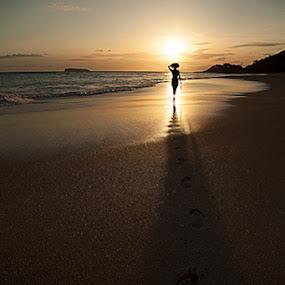 Dream by Tom Cuccio - Landscapes Beaches ( sand, maui, dream, sunset, lanscape, beach, hawaii )