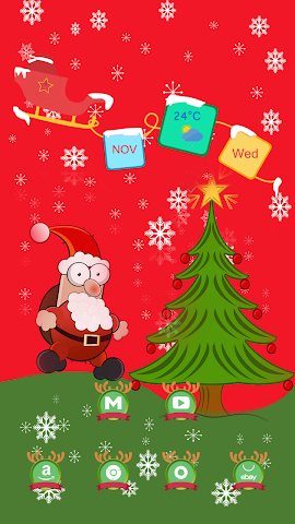 android The Funny Santa Claus Screenshot 1
