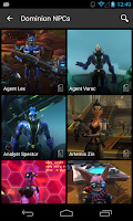 Screenshot of Wikia: Wildstar