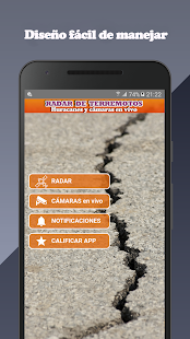 Radar terremotos huracanes screenshot for Android