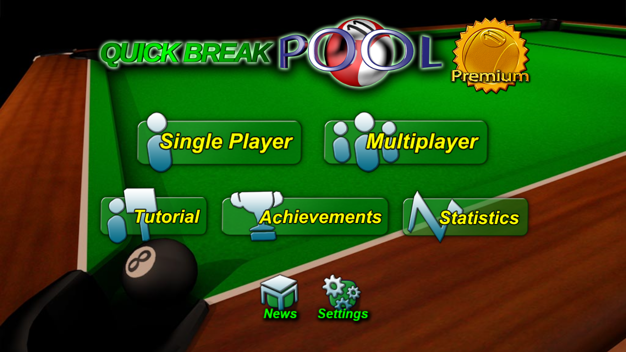 Quick Break Pool Premium Screenshot 0