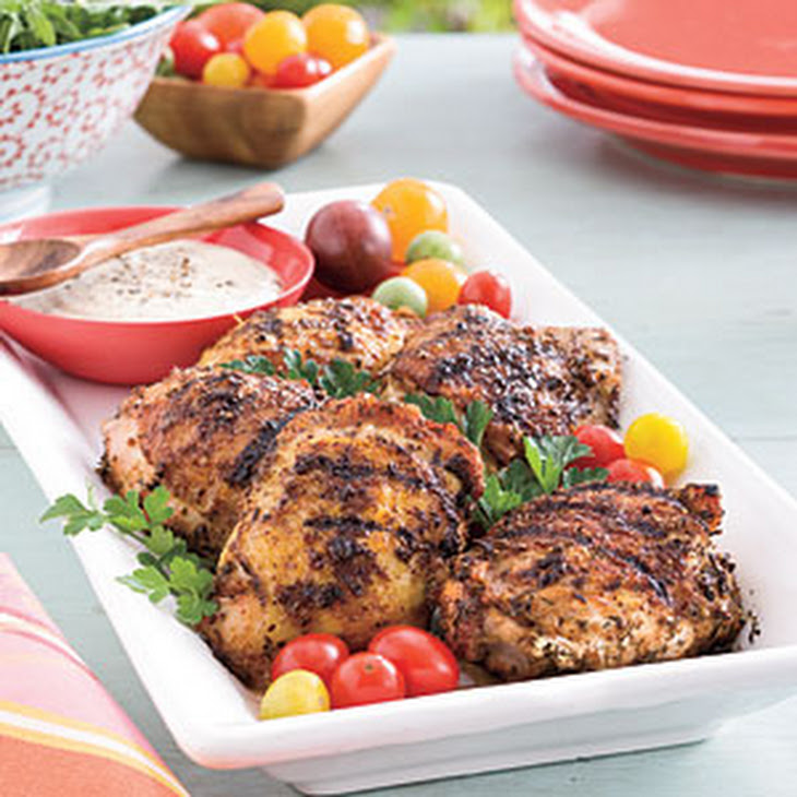 Grilled Chicken With Nectarine Barbecue Sauce Recipe ...