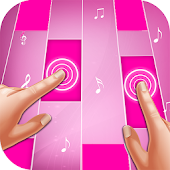 Game Pink Piano Tiles version 2015 APK