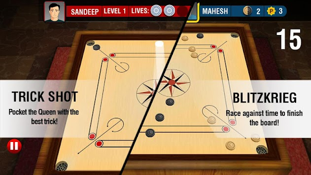 Real Carrom 3D : Multiplayer APK screenshot thumbnail 6