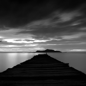 Monocrome by Moh Maulana Lana - Landscapes Waterscapes