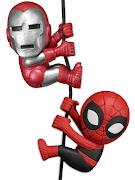 "Фигурка ""Scalers Mini Figures 2"" SDCC 2014 - Ironman/Spiderman (Characters) 2 Pack -"
