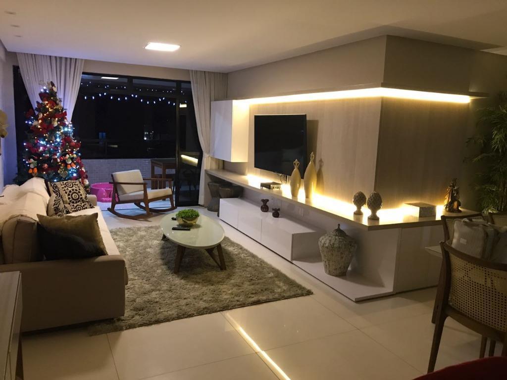 Apartamento residencial à venda, Manaíra, João Pessoa - AP5889.