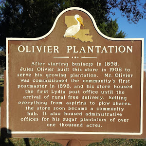 OLIVIER PLANTATION After starting business in 1898,Jules Olivier built this store in 1908 toserve his growing plantation. Mr. Olivierwas commissioned the community's firstpostmaster in 1898, and ...