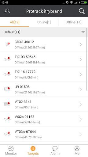 Protrack GPS screenshot 3
