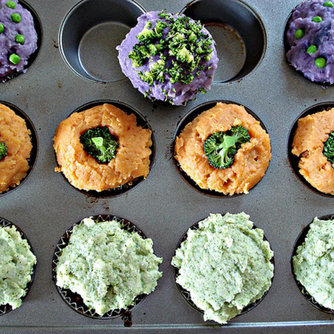 Halloween Meatloaf Cupcakes