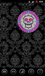 SKULL CLOCK ver3 SP - screenshot