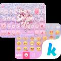 Glitter Unicorn KikaKeyboard