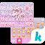 Glitter Unicorn KikaKeyboard APK for iPhone