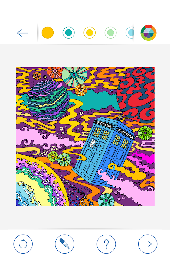 BBC Colouring: Doctor Who Screenshot 6