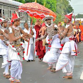 Dancers by Jaliya Rasaputra - People Musicians & Entertainers