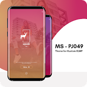 MS - PJ049 Theme for KLWP