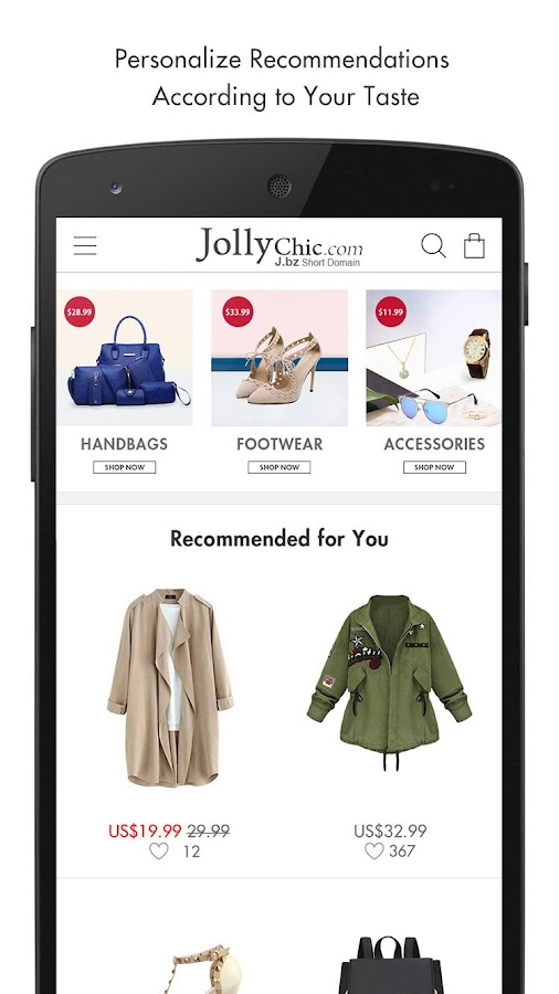 JollyChic Fashion Screenshot 6